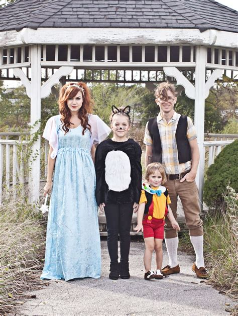 family photo themes ideas pinocchio themed family costume a beautiful mess