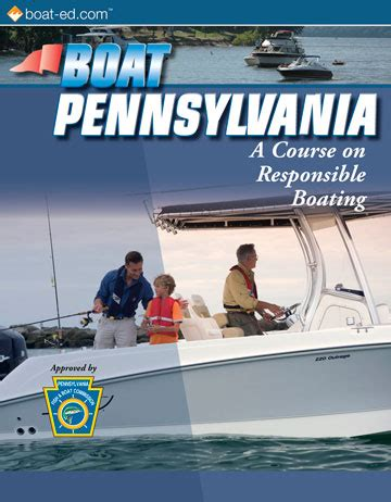 boating license pa pennsylvania s official boating safety course and online