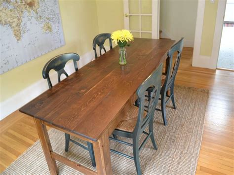 traditional farmhouse style dining table ideas  homes