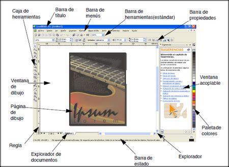 corel draw x5 y sus partes ventana de corel draw y sus elementos pictures