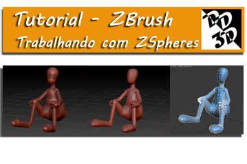 tutorial de zbrush tutorial desenvolvendo um personagem apartir de uma