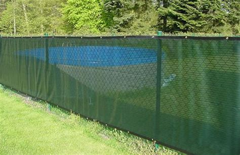 Sichtschutz Stoff Zaun by Fencing Materials Comparison Landscaping Network
