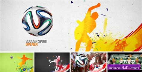 after effects templates free soccer soccer sport opener after effects project videohive