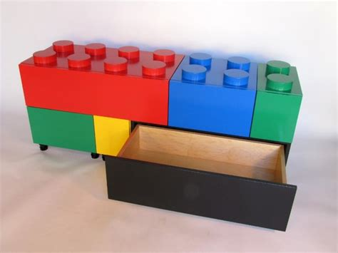 lego storage bench kirby block drawers collabcubed