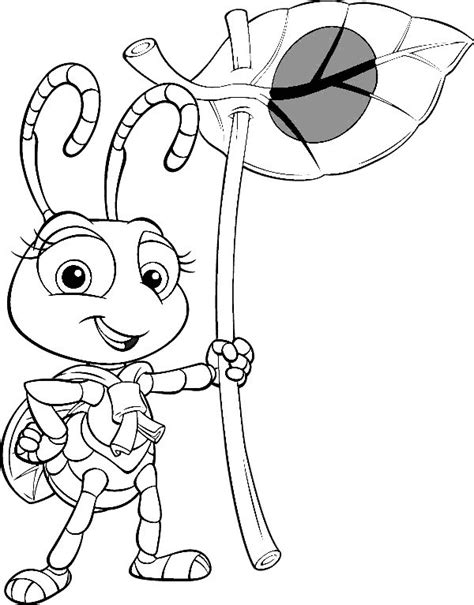 ant farm disney coloring pages top coloring pages