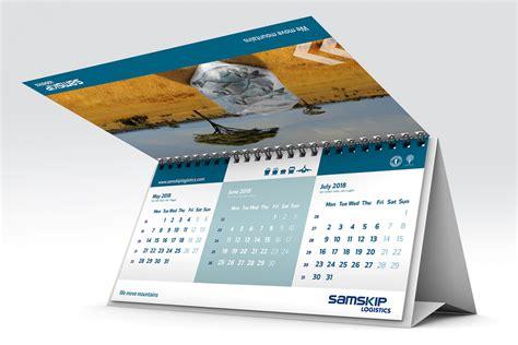 design kalender bureau samskip bureaukalender risign