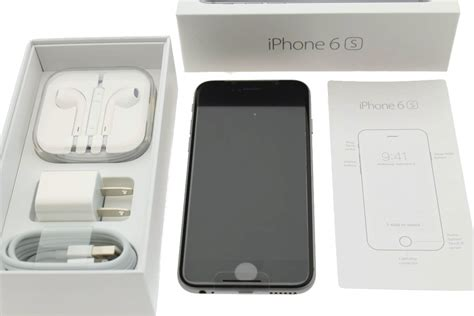 apple iphone 6s 64gb space gray at t t mobile factory unlocked model a1633 888462500203 ebay
