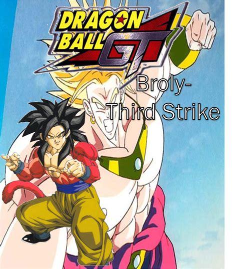 film layar lebar dragon ball dragon ball gt broly third strike dragonball fanon