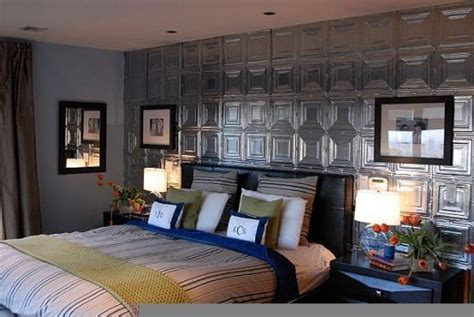 Tin Ceiling Tiles On Walls by Damask And Design Heavy Metal