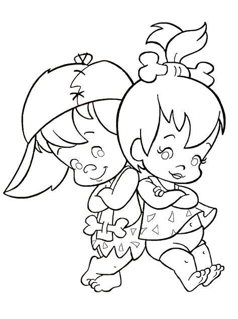 The Flintstones Coloring Pages Free Printables Pinterest The Flintstones Coloring Pages