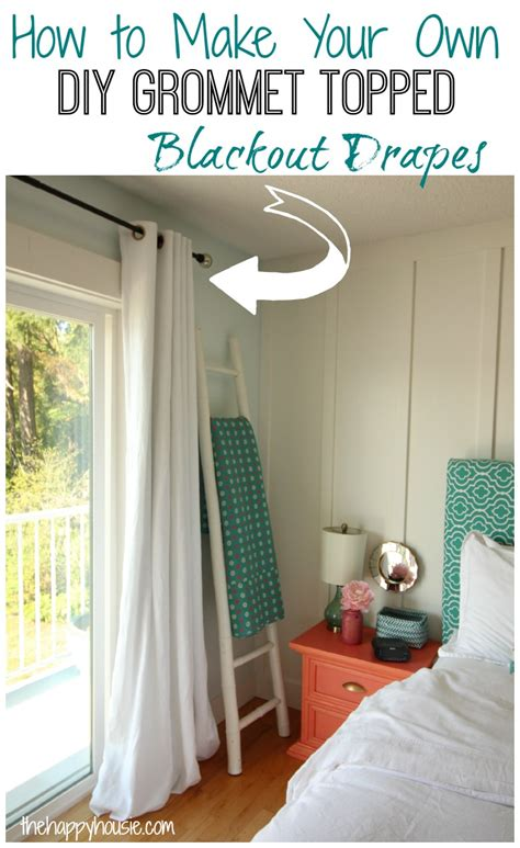 how to make curtains with grommets with lining how to make your own diy grommet topped blackout drapes