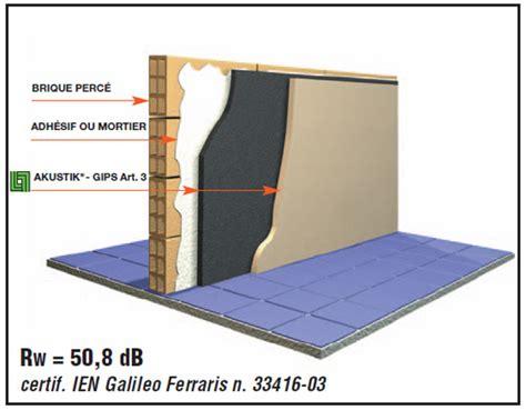 Isolation Acoustique Mur Mitoyen Existant 4217 by R 233 Alisation De Travaux Acoustiques Insonorisation Et