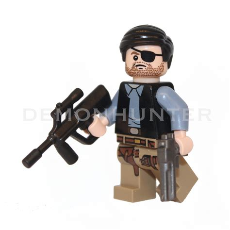 Lego Mini Figure Walking Dead 3 the governor philip from the walking dead lego