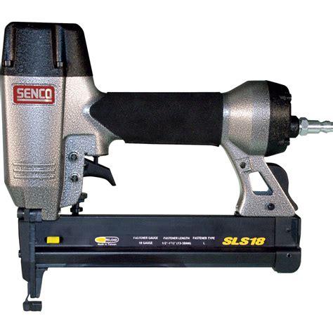 Senco Upholstery Stapler by Senco 1 1 2 In 18 Stapler Tools Air Compressors