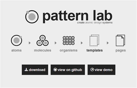 pattern lab review create atomic design systems with pattern lab web
