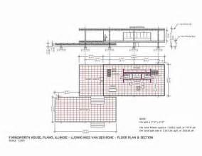 Farnsworth House Floor Plan Dimensions Farnsworth House Mies Der Rohe 1951 Floor Plan