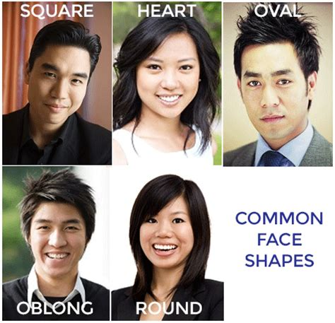 oblong face shape men asian guide to frames face shapes eyewear envy eyewear