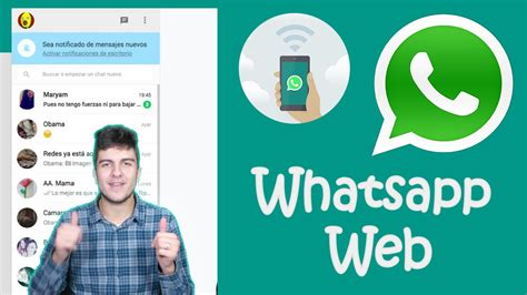 whatsapp web tutorial youtube whatsapp web c 243 mo funciona android 191 ios chatea