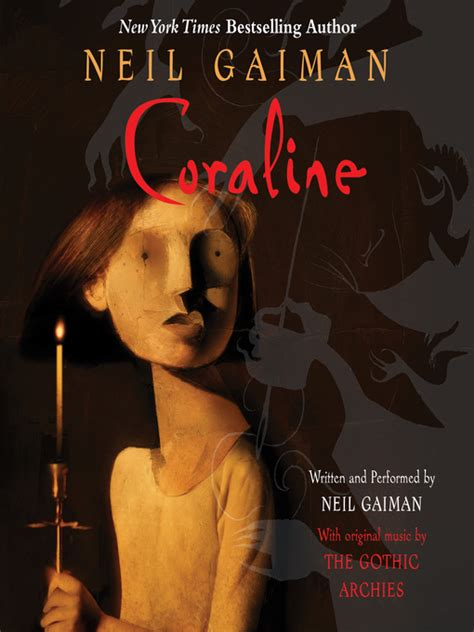 libro the neil gaiman audio coraline listening books overdrive