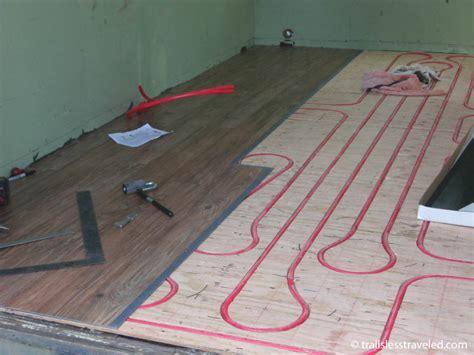 Radiant Heat Flooring by Best Laminate Flooring Radiant Heat Best Laminate