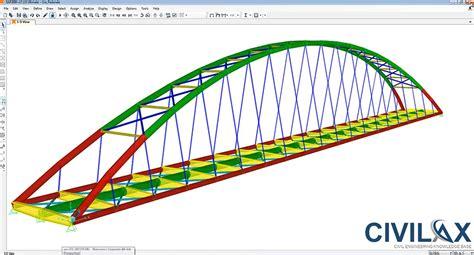 Home Design Software Pro Pedestrian Steel Bridge Design Using Mathcad Sap2000