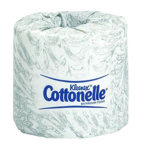 Bathroom Tissue by Kleenex Cottonelle White Bathroom Tissue 2 Ply Of 60