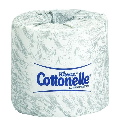bathroom tissues kleenex cottonelle white bathroom tissue 2 ply case of 60