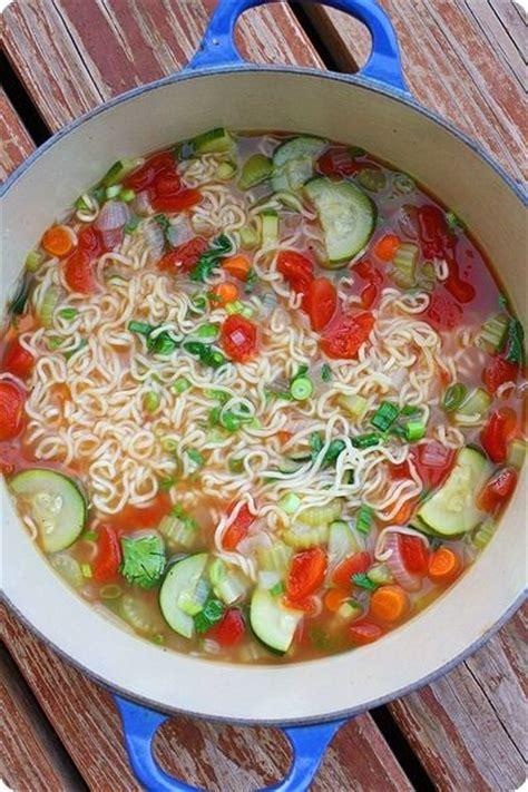 ramen noodle soup recipes vegetable 1000 ideas about vegetable soups on