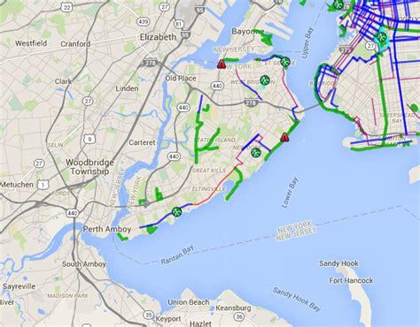 staten island map staten island bike map staten island bike paths bike lanes greenways nyc bike maps nyc
