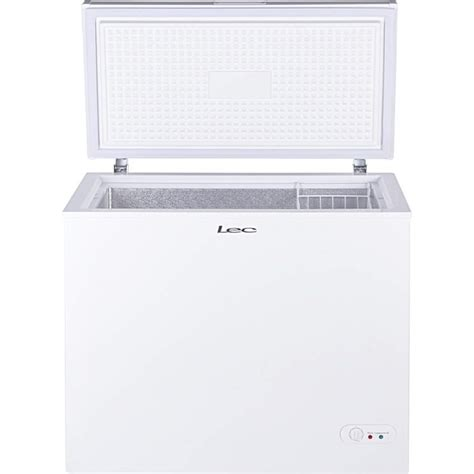 Freezer Box Modena 200 Liter lec cf200lw 200 litre chest freezer white 444442303 appliances direct