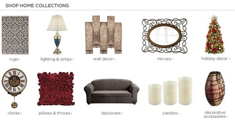 jc home decor style for jcpenney
