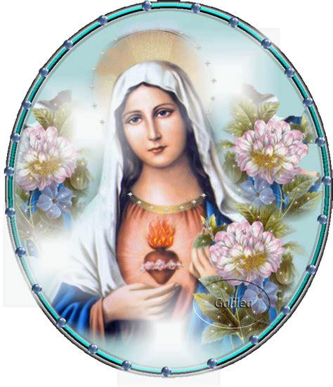 imagenes de la virgen maria en 3d gifs religiosos inmaculado coraz 243 n de mar 237 a