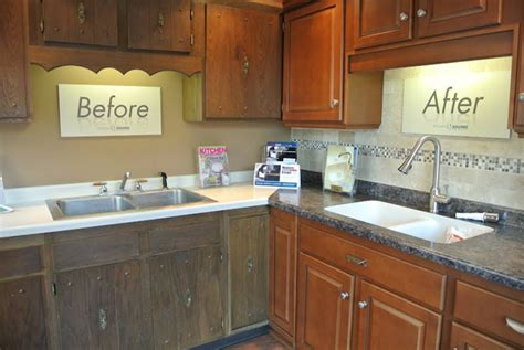 Refacing Kitchen Cabinets Before And After Kitchen Cabinet Refacing Emerges As The Thrifty Choice