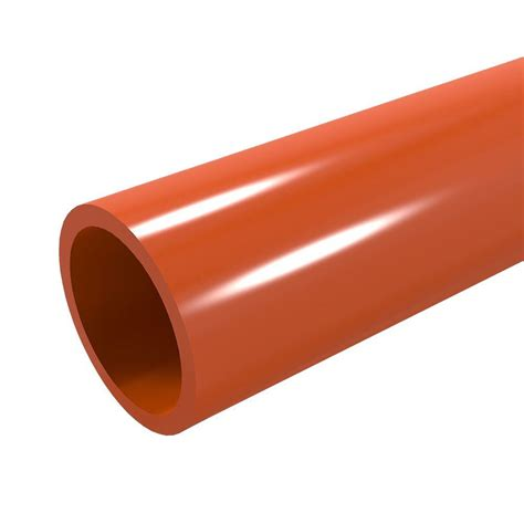 4 in x 10 ft pvc sch 40 dwv plain end pipe 531103 the