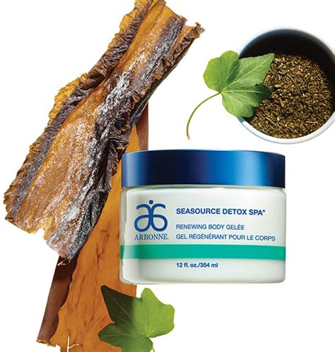 Arbonne Seasource Detox Spa Gelee by Spa Products Seasource Detox Spa By Arbonne