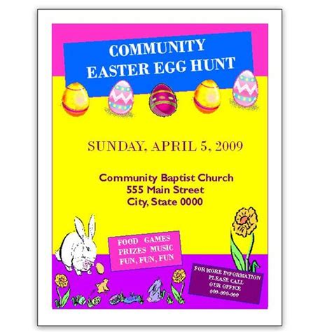 easter egg hunt template free 10 free easter invitation templates to and print