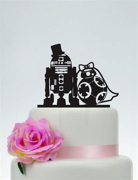 Bedroom Ideas For Married Couples wedding cake topper star wars cake topper r2d2 amp bb8 cake