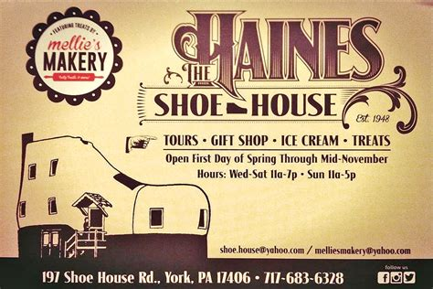 shoe house pennsylvania united states with new owners haines shoe house becomes bakery treat shop visit pa dutch country