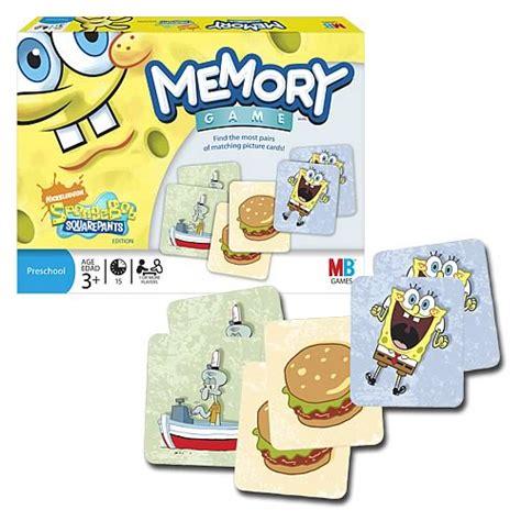 Promo Match It Memory spongebob squarepants memory hasbro spongebob squarepants at entertainment earth