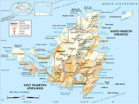 st martin map file martin island map fr svg