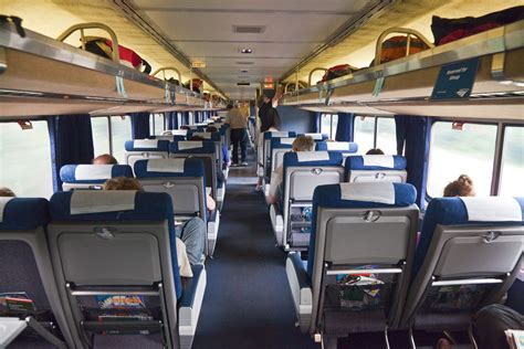 Amtrak Interior by Coach Seating On Amtrak S Empire Builder Interior Of A