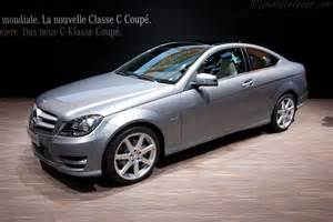 mercedes c class coupe 2011 geneva international