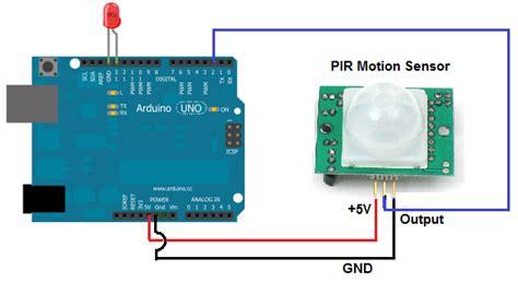 arduino code pir sensor how to build a motion sensor light circuit with an arduino