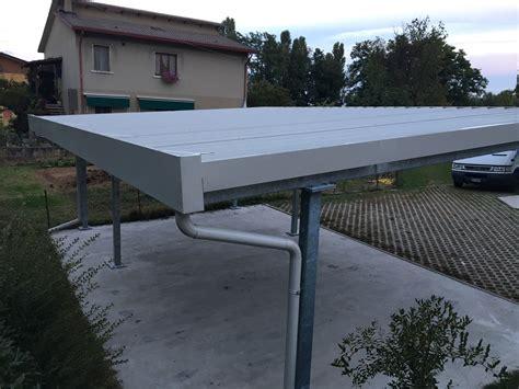tettoie in ferro zincato tettoie in ferro zincato gallery of estensione carport x