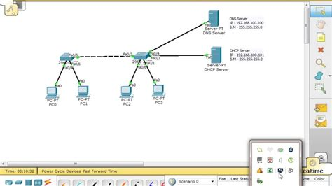 cisco packet tracer firewall tutorial dns and dhcp server configure through the cisco packet