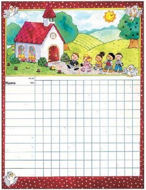 sunday school attendance chart printable attendance