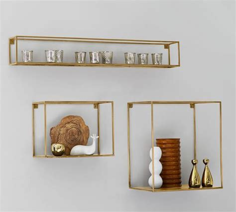 Pottery Barn Shelf Brackets by Cube Display Shelves Offices Pottery And Metals