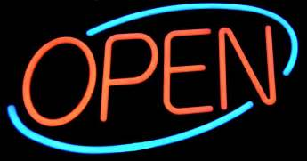 Open by Free Photo Open Sign Sign Signage Neon Free Image On