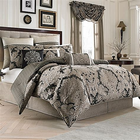 bed bath and beyond track order croscill 174 augusta reversible comforter set bed bath beyond