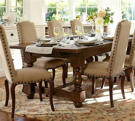pottery barn dining room furniture pottery barn cortona extending dining table shopstyle home